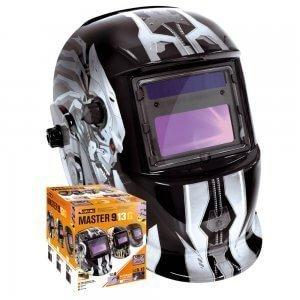 Masque de soudeur MASTER LCD 9-13G IRON - TOPARC