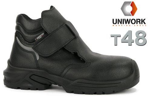 Chaussure de soudeur en cuir - T48 - UNIWORK