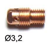 Support pince et buse Ø3,2 pour torches TIG SRL20/SR20HD