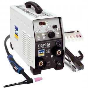 Poste de soudure TIG 200 HF DC avec accessoires - GYS - NEW MODELE