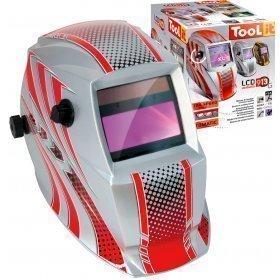 Masque de soudeur LCD HERMES 9-13G - RED - TOOL IT