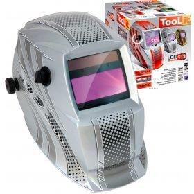 Masque de soudeur LCD HERMES 9-13G - SILVER - TOOL IT