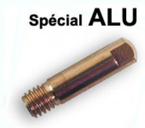 tubes contacts spécial alu Ø 0,8  M6 - Pour torche 150 A