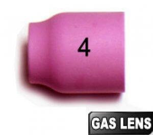 2 Buses N° 4 - Ø6,5  GAS LENS pour torches TIG SR9/SRL20/SR20HD
