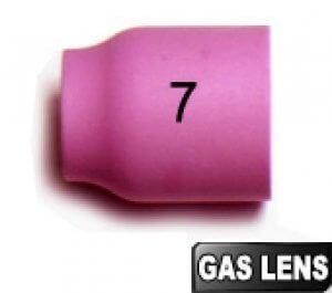 2 Buses N° 7 - Ø11  GAS LENS pour torches TIG SR9/SRL20/SR20HD