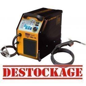 Poste de soudure SPARK MIG 140 -  140A 230V - 2 EN1  - Tool Up - DESTOCKAGE