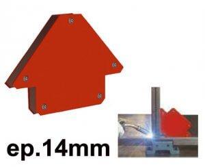 Équerre magnétique 14mm
