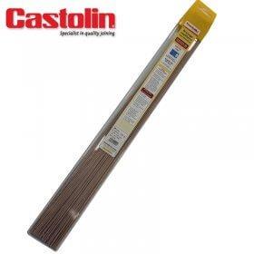 Baguettes métal apport flamme spécial Gaz - 808 G - cuivre - Ø 2 - CASTOLIN