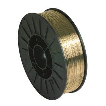Bobine de fil plein  D 200 mm - Spéciale tôle THLE (CUAL8) - D 0,8 mm - 5 kg