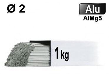 Baguettes tig ALU d2 - 1kg