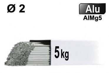 Baguettes tig ALU d2 - 5kg