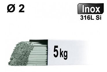 315 GYS 087 /Électrodes de soudage TIG en acier inoxydable