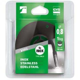 Bobine de fil plein  D 100 mm - INOX 308 LSi - D 0,8 - 1kg