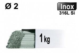 Baguettes tig inox 316l d2 - 1kg