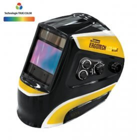 Masque de soudeur LCD ERGOTECH  5-9 / 9-13 G TRUE COLOR - BLACK  - GYS -