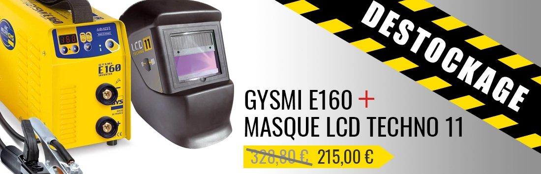 Promo GYSMI E160